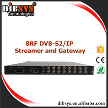 244 SPTS/16 Multiplxed MPTS,Digital Television HD Receiver DVB-S/S2 RF over IP Demodulator,Multiplexer and Scrambler