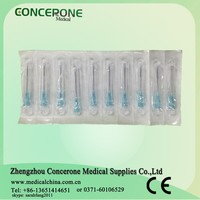 manufacturer hypodermic needle / injection needle guage/ sterile syringe neelde 18g 20g 21g 22g 23g 24g 25g 26g 27g 29g 30g