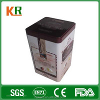 Food grade Different Shape Empty Tin Can