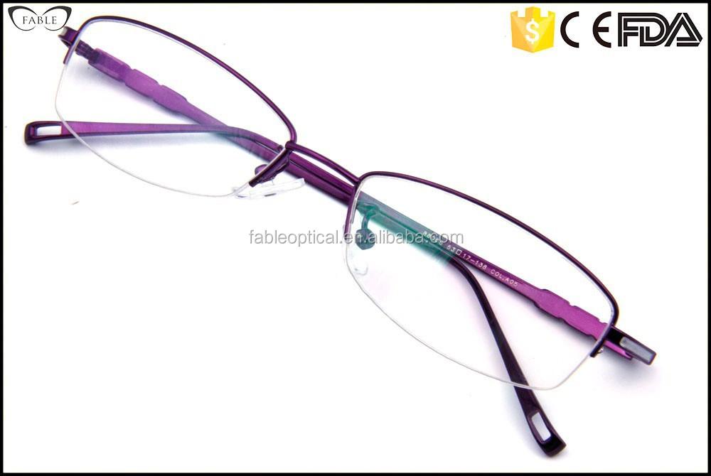 Designer Prescription Eyeglass Frames : New Designer Prescription Titanium Rimless Eyeglass Frames ...