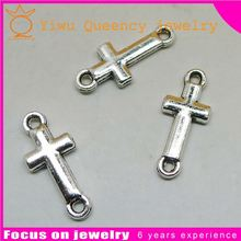 Wholesale antique silver Alloy Blank Tray Pendant Charms fit 25mm Cameo/ Cabochons