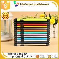 mobile phone accessories cheap slim armor minion silicone case for iphone 6 plus