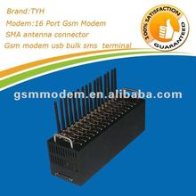 New arrival! 16 gsm modem /mini gsm gps module with free soft SMS CASTER 850/900/1900