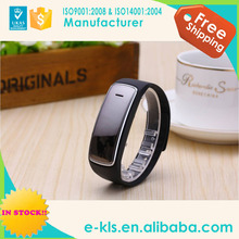 Promotion model!! factory lowest price smart bluetooth health bracelet for iphone
