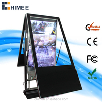 42''47''55''65'' Digital Signage Display USB/SD/CF Digital Media Player Retail LCD Advertising Player with double Screen
