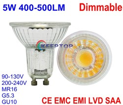 High CRI bulb e27 / mr16 / gu10 holder NO NEED DRIVER led warm / natural / cool white COB dimmable spotlight
