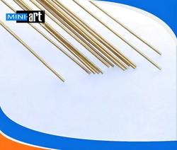 DIY Brass rod airplane accessories transmission shaft metal rod 1mm * 300 mm 20 pcs/lot