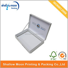 Customed logo color printing cardboard photo frame packaging box