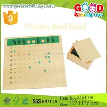 Educational Montessori Math Materials Division Bead Board