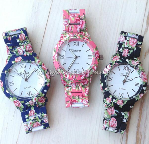 orologio geneva fiori