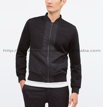 2015 high quality Zipper pocket mens jacket motorcycle
