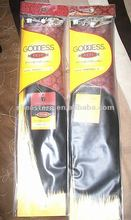2012 elegent customed plastic Hair extention bag
