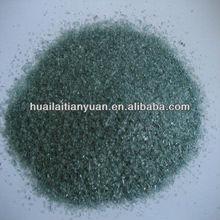 diameter 1-3mm borosilicate black frit glass for recycling