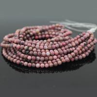 Black Veined Jasper Natural Stone Beads Dyed Strand