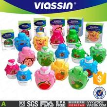 viassin plastic kids water drinking bottle