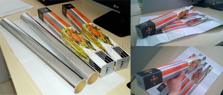 8011 O Food Aluminium Foil Roll