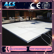 ACS 4ftx4ft wood black and white dance floor for sale