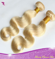 Hot! Product 2014 Wholesale Aliexpress China Supplier 613 Blonde Hair Weave