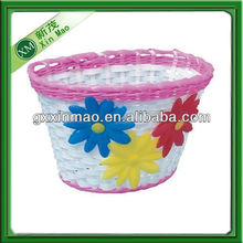 cute handwoven plastic fruit storage basket wholesale