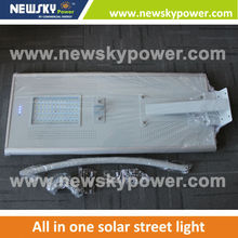 led street light project greenhouse solar energy integrated solar street light