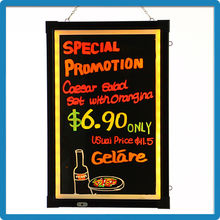 Innovation hot selling product 2015 90 flashing modes led writing board battery operated sign