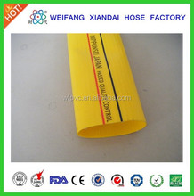 2015 high pressure PVC lay flat hose for irrigation