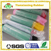 Color rubber rolls with fabric, color rubber foam rolls, color rubber foam rolls for yoga mat