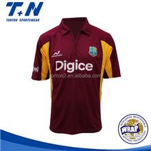 customized cricket team jersey design