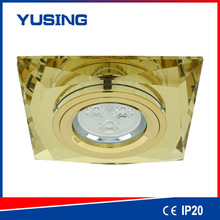 Elegant decorative 3 years' warranty 3W 5W high quality mini square led downlight