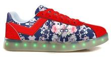 2015 fashion kid shoe skate shoe light shoes