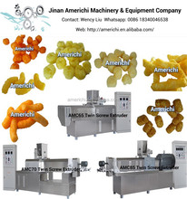 Food extruder for corn puff, cheese ball, onion ring