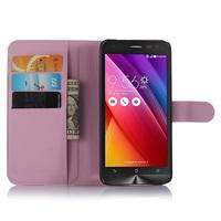 PU Leather Wallet Type Magnet Design Flip Case Cover Credit Card Holder Case For ASUS ZenFone 2 Laser ZE500KL 5 inch