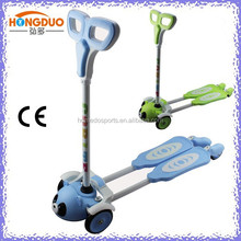 new fashion 4 wheels frog kick scooter, froggy scooter