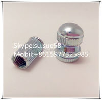 Factoty manufacture in China :knurled threaded insert nut