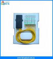 1*8 Fiber Optic PLC Splitter Module