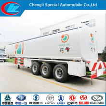 China made 3 axles fuel tank truck high quality fuel delivery truck for sale famous brand used oil delivery tankers truck