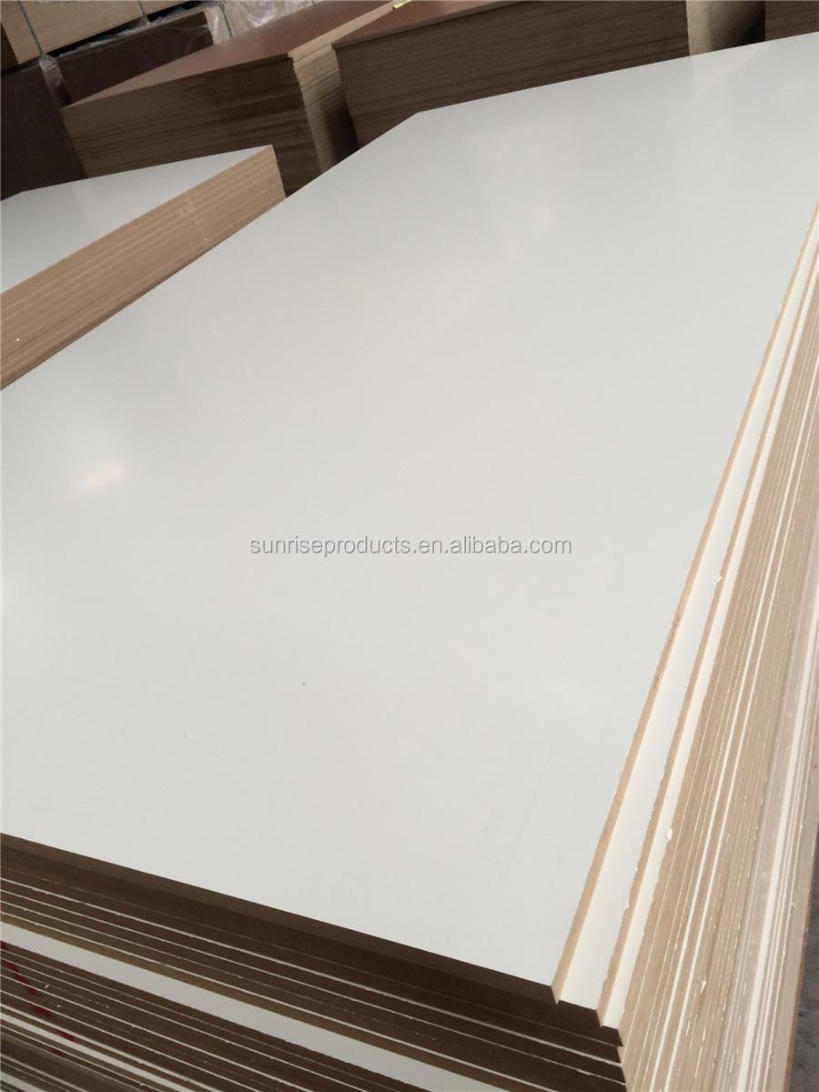 Warm white melamine waterproof mdf board buy