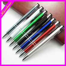 Advertising multiple color promotional metal pen wholesale metal ball pen gift pen
