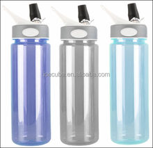 fashinal bpa free plastic drink water bottle in various capacities and colors