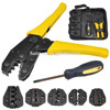 Hand tools mechanical terminals crimping tool kit For cable cord end sleeves 10-35mm2 LXK-30JN