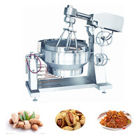 XYZDCG-400 Central kitchen equipment large food mixer/pot with agitator