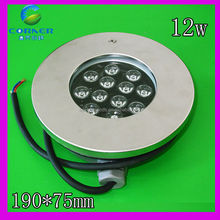 Rgb led luce piscina pc+stainless base in acciaio 12w ac12v ip68 fornitore porcellana