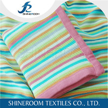 Top Quality New Design Wholesale Bamboo Organic Cotton Baby Blankets