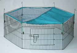 2015 out doordurable of good quality easy to assemble dog pen pet pen rabbit pen