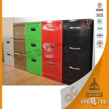 Fashion Simple Waterproof Metal Furniture Design Steel File Cabinet/Metal Cupboard