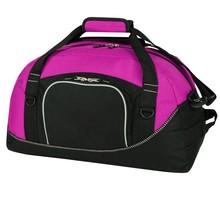 Ladies plain travel duffel bag