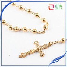 New Products gold/silver filled rosary jewelry