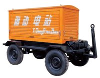 trailer power station diesel generator with canopy