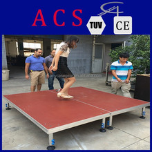 ACS On Sale portable dj stage, stage deck, stage podium for event