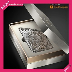 3D Relif Embossed Electroplating Angel Wing Hard PC Case For iphone 6 plus